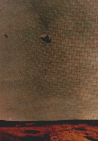 Fig. #12b: Colour photograph of a UFO type K3