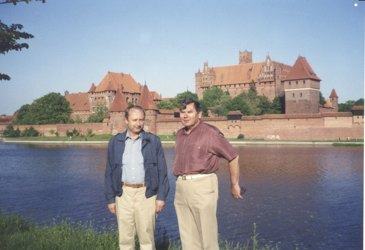 Fig. #A1: Dr Jan Pająk with brother the late Czesław Pająk