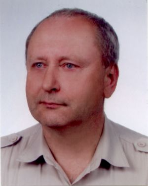 Dr Jan Pajak - passport photo taken on 19 July 2004