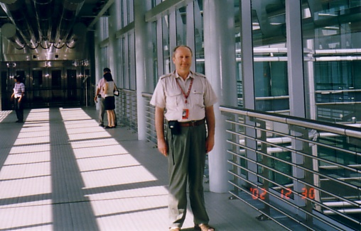 Fig. #2 (J2 in [10]): Dr Jan Pajak in KLCC from Kuala Lumpur, Malaysia, December 2002